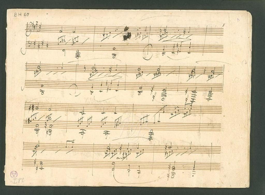 Moonlight Sonata Manuscript