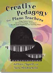 Cover of Creative Pedagogy for Piano Teachers